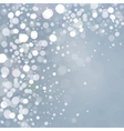 Lights on grey background vector image vector image