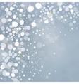 Lights on grey background vector image