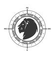 signs of the zodiac circle vector image