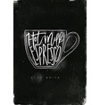 flat white cup chalk vector image vector image