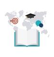 Education concept design vector image