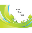nature border background vector image