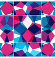 bright mosaic seamless pattern with grunge effect vector image