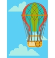 Hot Air Ballon vector image vector image