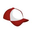 baseball cap icon design vector image