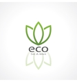 ecology symbol vector image