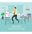 Successful Business Idea Poster vector image