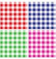 tablecloth pattern vector image vector image