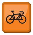 Bicycle icon - bike icon vector image