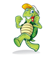 Running Turtle vector image vector image