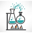 Science trendy icons pack for design vector image vector image