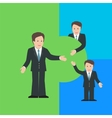 Merger and Acquisition design concept with vector image