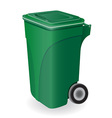 trash can 04 vector image