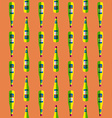 pop art liquor bottle seamless pattern vector image
