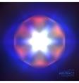 Cosmic shining background vector image