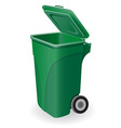 trash can 05 vector image
