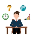 Business consulting design vector image