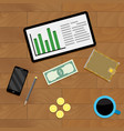 accounting budget finance vector image