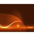Abstract glowing lines vector image vector image