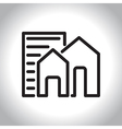icon real estate vector image