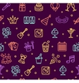 Party Background Pattern vector image vector image