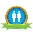 Women certificate icon vector image