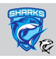 stylish emblems for sports teams with a vector image