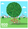 ecotransport vector image