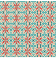 floral geometric ornament vector image