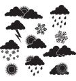 weather image vector image