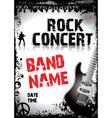Rock-concert-poster vector image