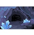 Fairy cave vector image