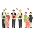Traditional and Nontraditional Partners vector image