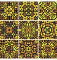 Kaleidoscope background vector image