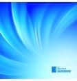 Blue luminous waves vector image