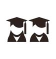 University avatar Education icons vector image vector image