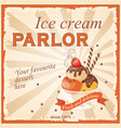 Ice cream parlor vector image