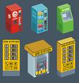 Vending Machine vector image