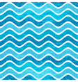 Seamless pattern with blue waves vector image vector image