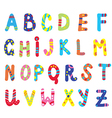 Abc for children funny vector image