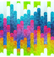 rainbow stripes seamless pattern vector image