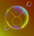 Horoscope abstract color sign of the zodiac - vector image