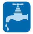 water tap-water faucet vector image vector image