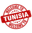 Welcome to tunisia vector image