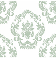 Floral ornament pattern with stylized centered vector image