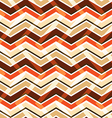 Brown zig zag seamless pattern vector image