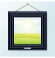 Artwork Picture Frame vector image vector image