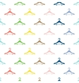 Abstract hanger seamless pattern or background vector image