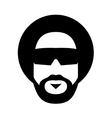 afro style vector image