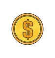 coin money symbol vector image